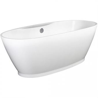 Amazonas 180 F New mit Schürze, freistehende Badewanne weiß 180x83x46/60 cm