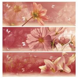 Azulejos mallol decor fiore burdeos 3 60 x 60 cm fliesen online kaufen - Azulejos mallol ...