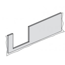 HSK FRONT- und SEITENSCHÜRZE DOBLA Frontschürze Einstieg links 160 cm