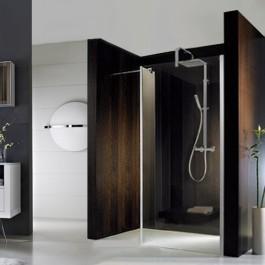 hsk duschkabine walk in atelier frontelement seitenteil fliesen. Black Bedroom Furniture Sets. Home Design Ideas