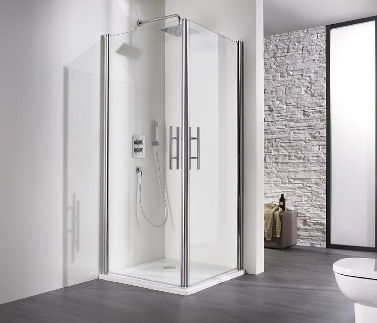 hsk duschkabine exklusiv eckeinstieg 2 teilig fliesen online kaufen. Black Bedroom Furniture Sets. Home Design Ideas