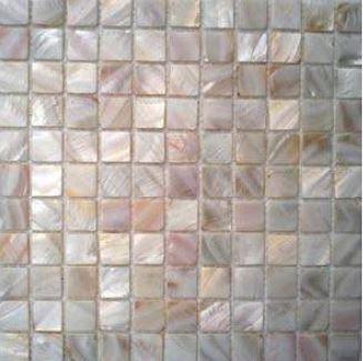 Fliesenshoponline De Shell Mosaik Bk 02 Perlmutt Weiss Fliesen